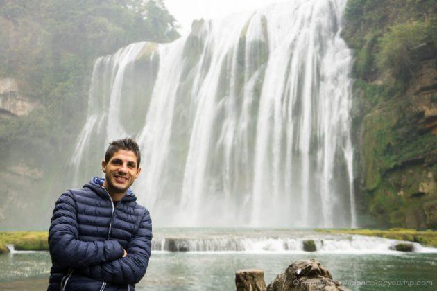 guizhou cina huangguoshu waterfalls
