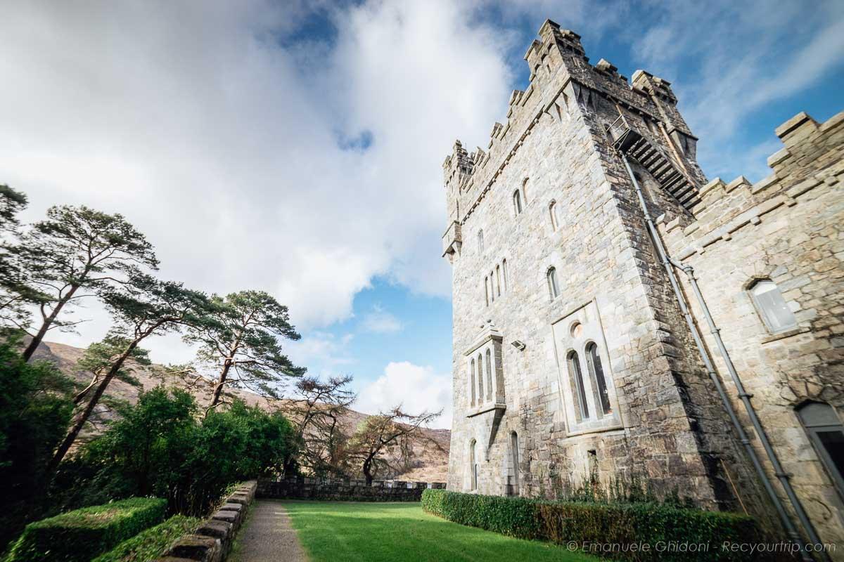 castello nel donegal in irlanda