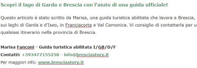 collaborazione con Marisa Fanconi per le Grotte di Catullo