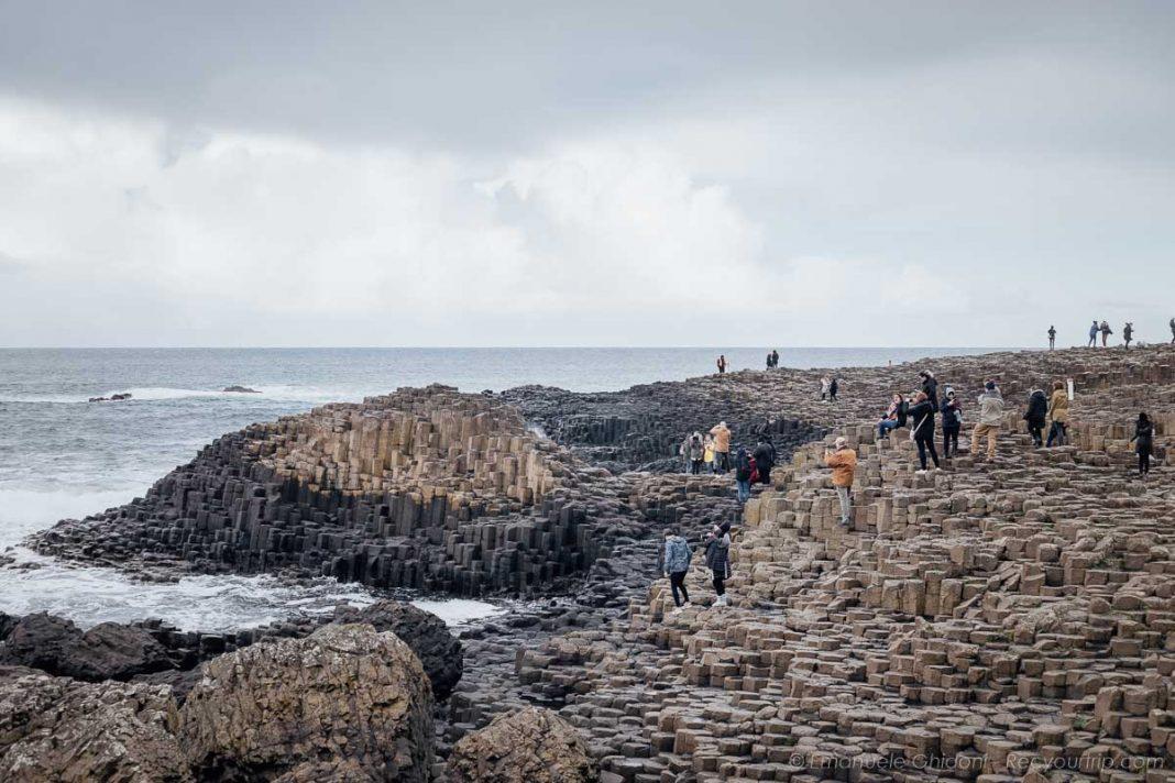 la spettacolare Giant's Causeway