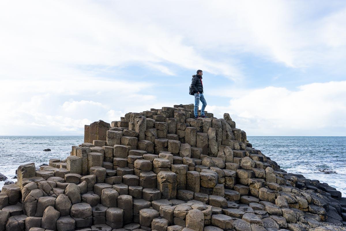 Una tra le innumerevoli foto fatte nella Giant's Causeway