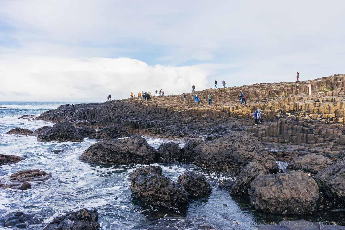 scoprendo la Giant's Causeway