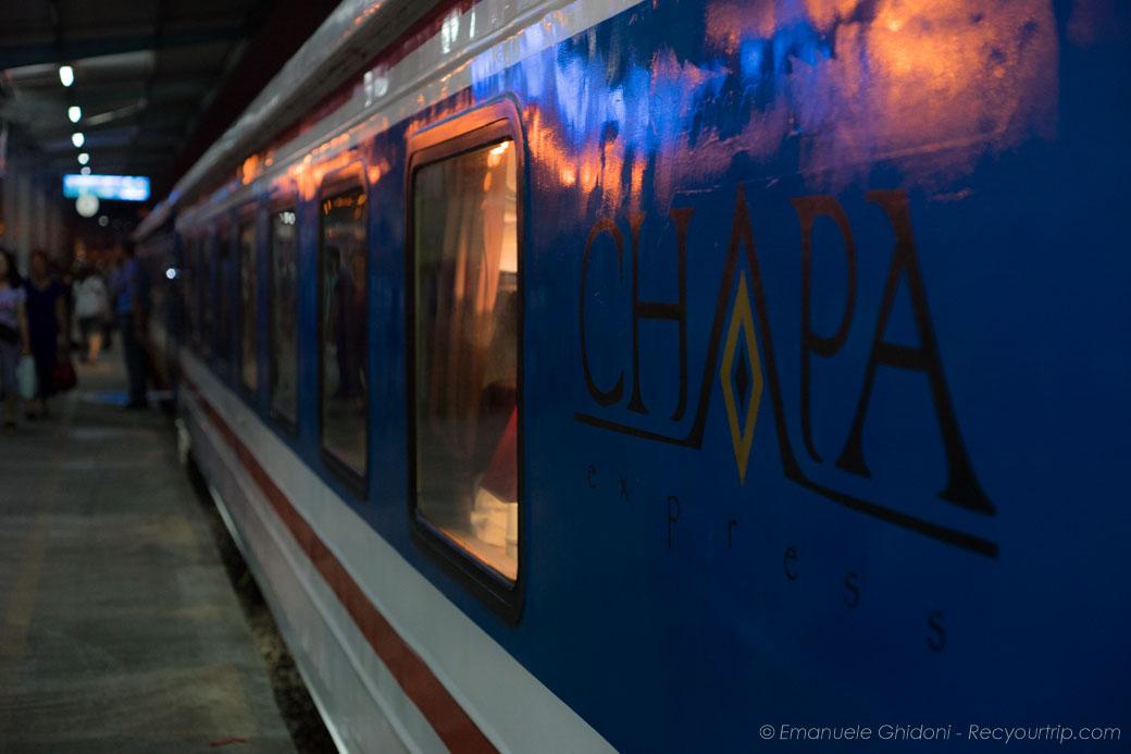 treno hanoi sapa notturno