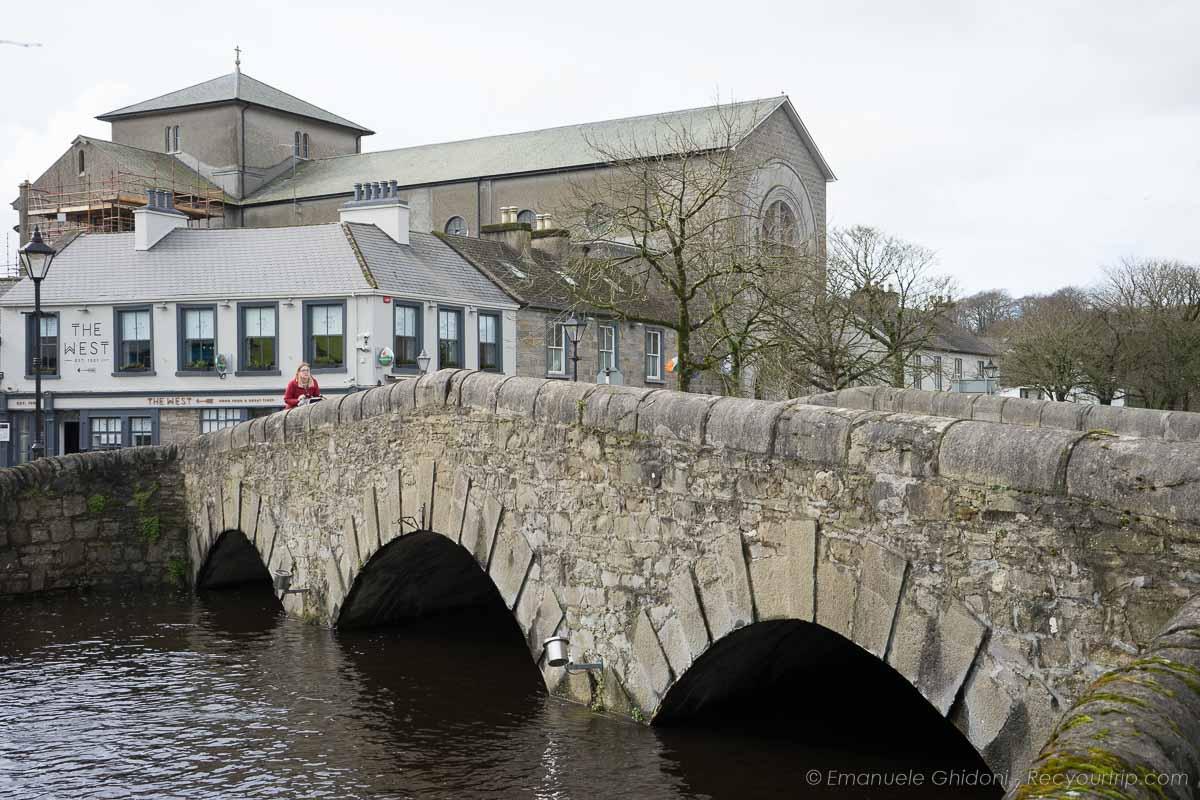 città di westport alle porte del Connemara
