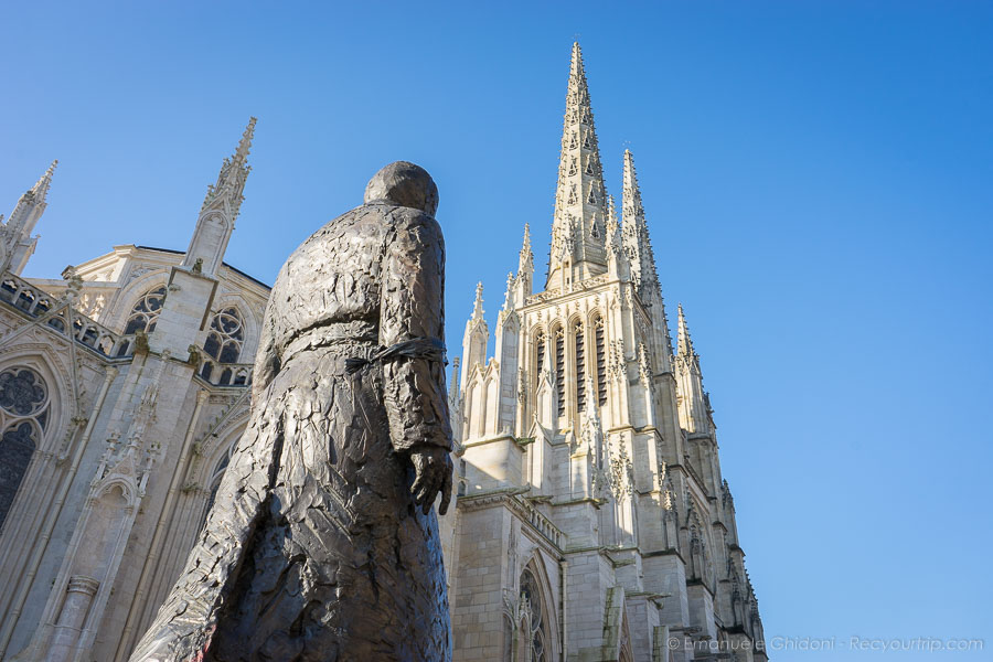 la cattedrale di bordeaux