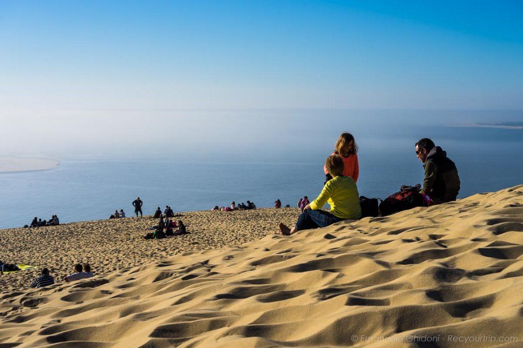Scorci verso l'Oceano dalla duna di pilat