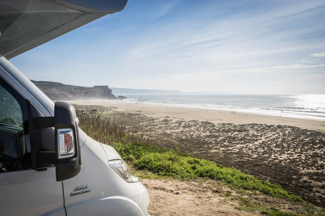 fly & camper viaggiare come fly&drive viasta sul mare di nazarè