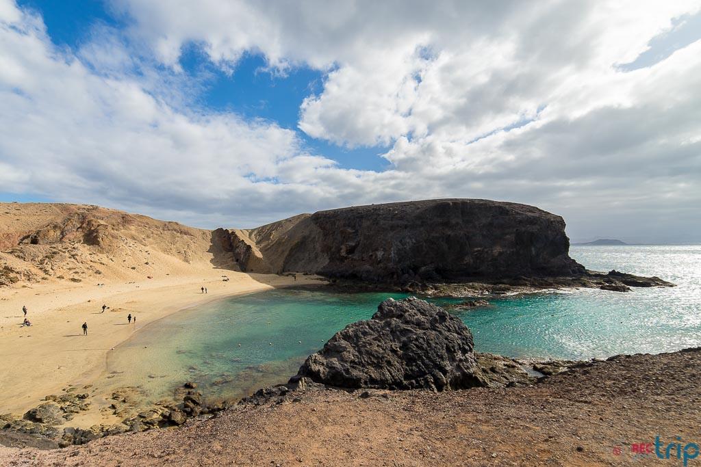 playa papagayo tra le spiagge più belle di lanzarote