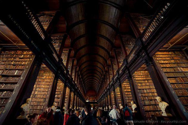 cosa vedere a dublino, la old library
