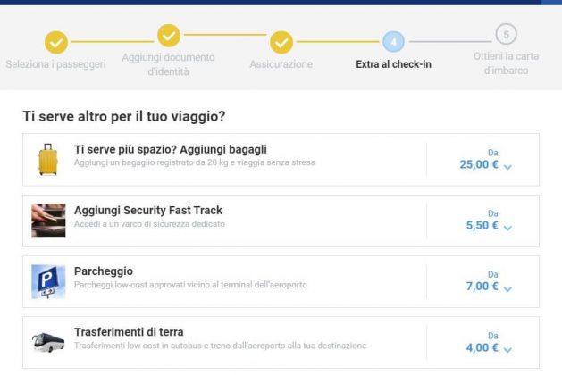 ryanair check in online prima carta imbarco
