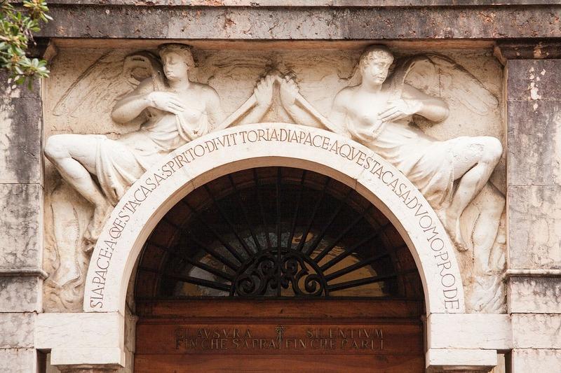 facciata ingresso interno vittoriale degli italiani