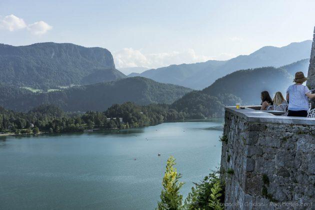 vista panoramica tra le cose da vedere sul lago di bled