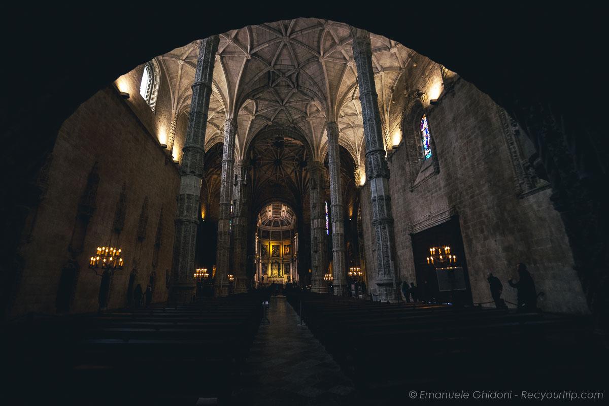 interni del monastero de geronimos