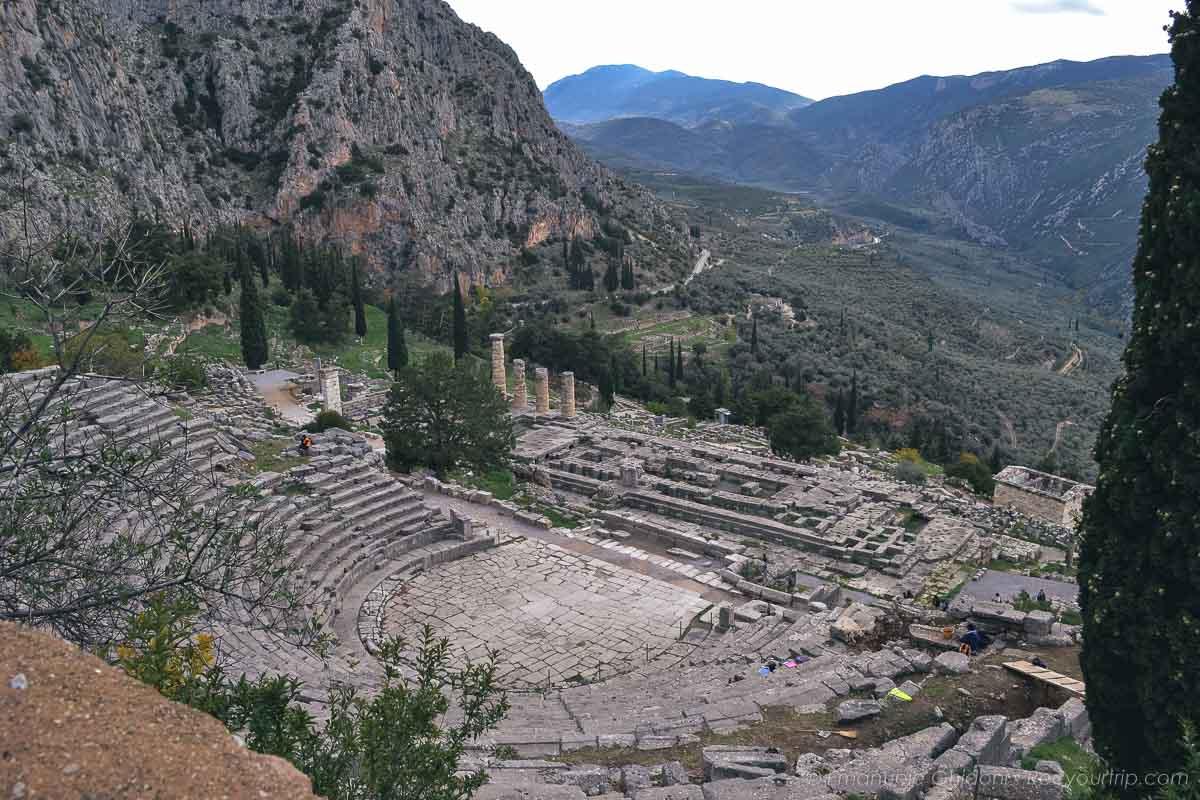 delphi grecia continentale