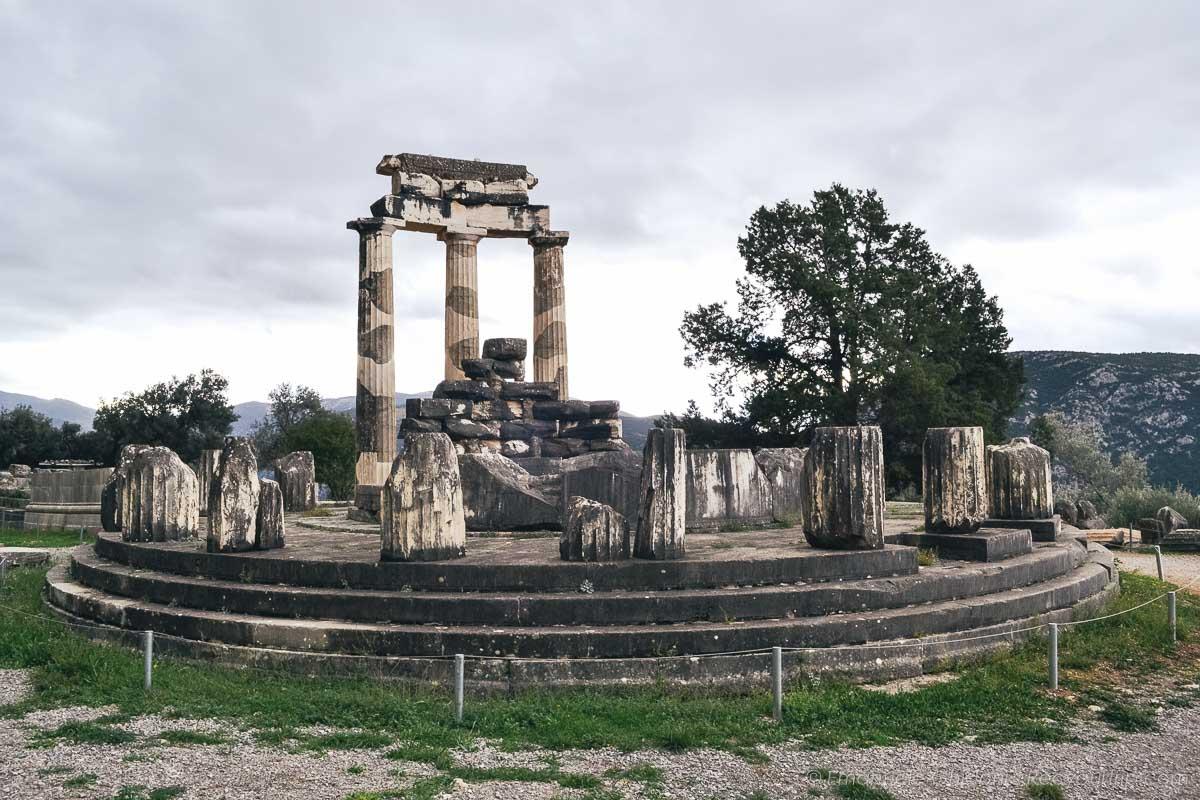 delphi oracolo in grecia