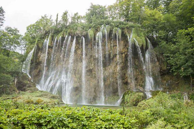 laghi di plitvice in croazia