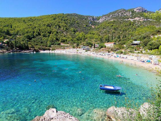 pupnatska beach in croazia isoal di korkula