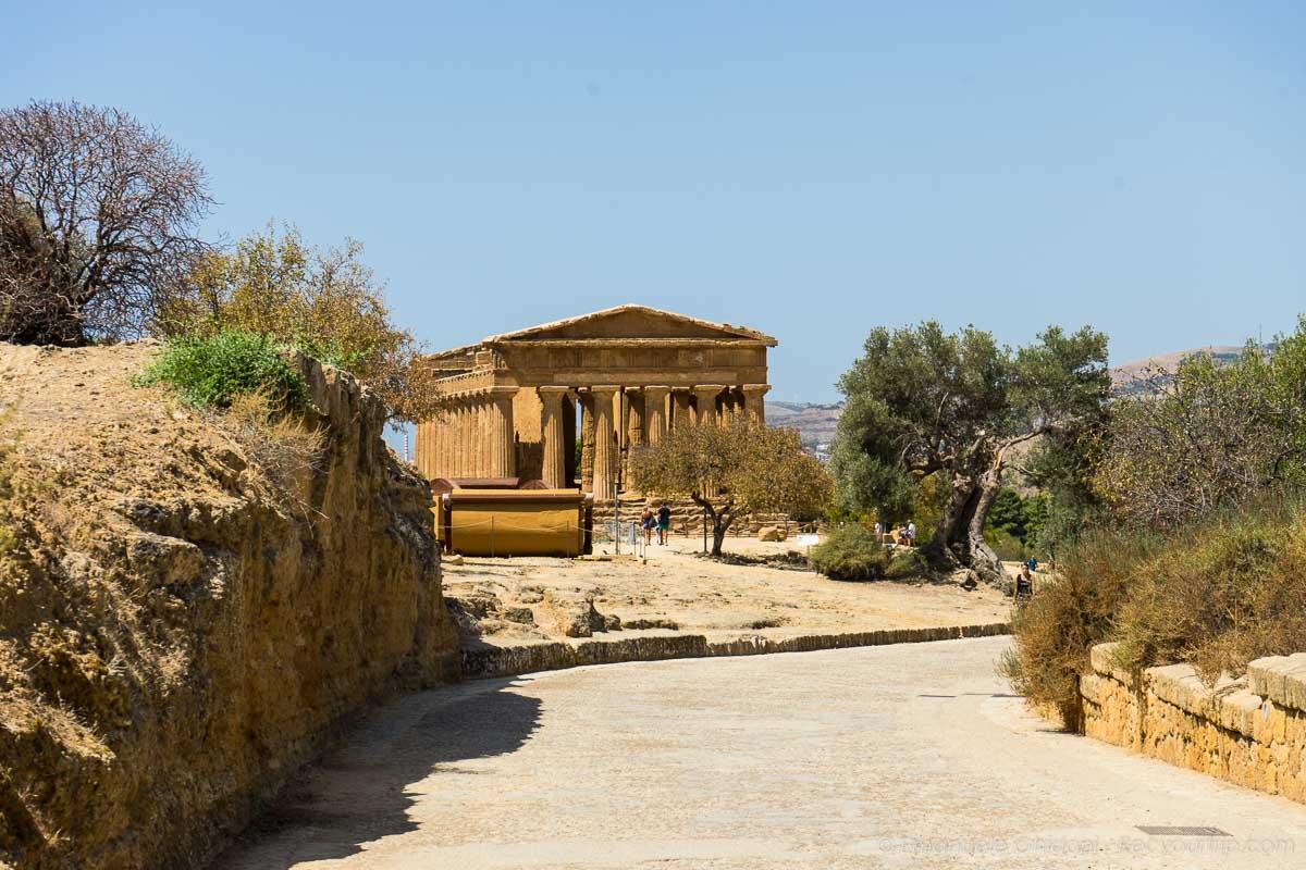 valle dei templi di agrigento itinerario in sicilia