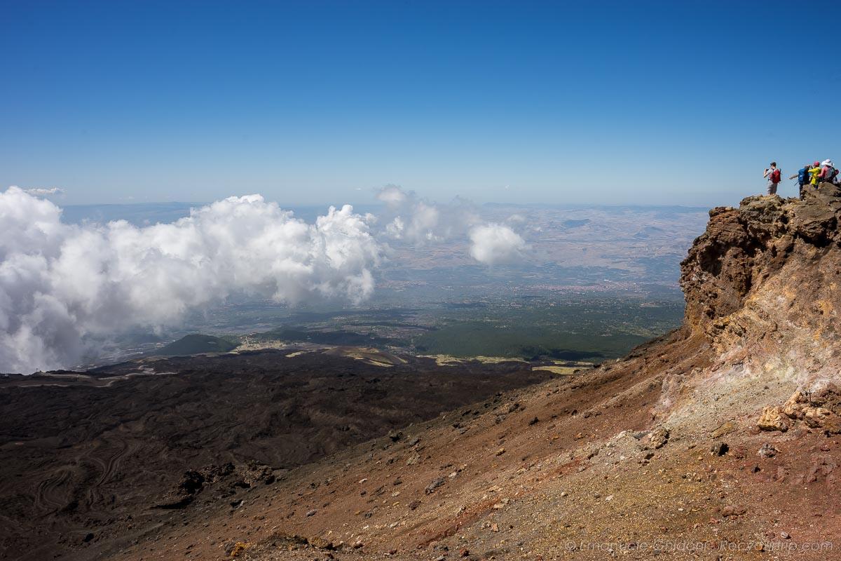 itinerario in sicilia trekking etna